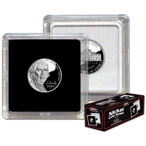 "BCW Coin Snap 2""x2"" - US Nickel (21.2mm)"