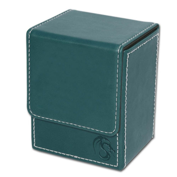 BCW Deck Case LX - CCG Card Storage Case - Teal