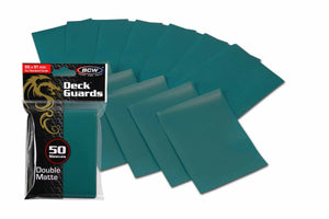 BCW Deck Guards - Double Matte Teal (50ct)