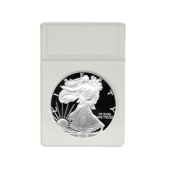 BCW Coin Slab White Inserts - US Eagle 40.8mm (25ct)
