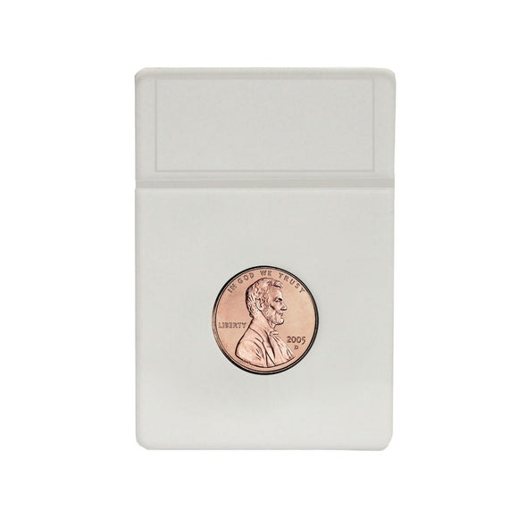 BCW Coin Slab White Inserts - US Penny 19mm (25ct)