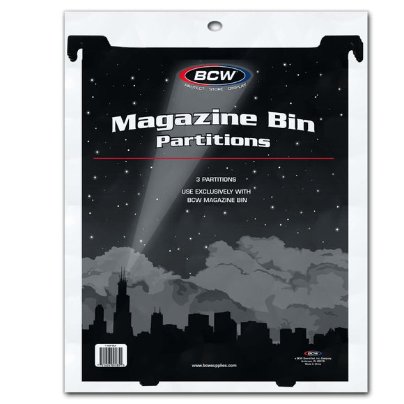 BCW Magazine & Document Bin Partition
