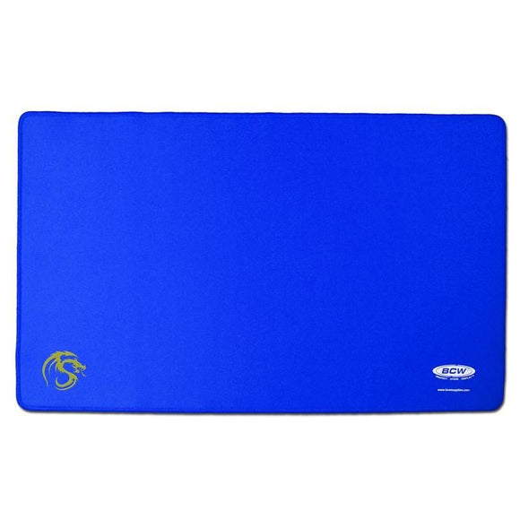 BCW Gaming Playmat w/ Stiched Edging - Blue