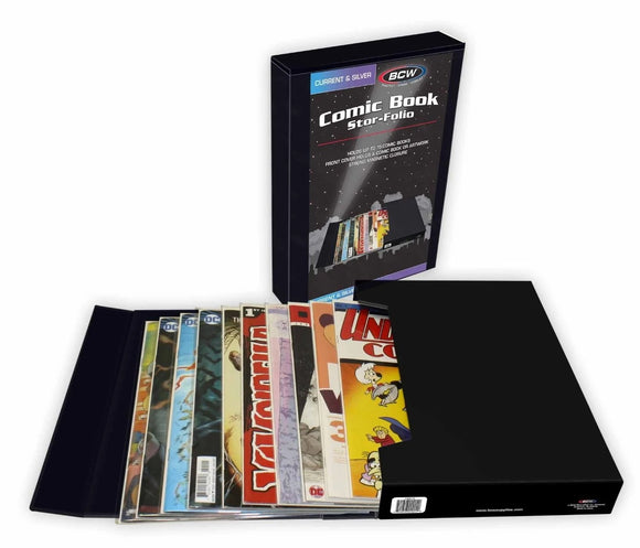 BCW Comic Book Stor-Folio - Black