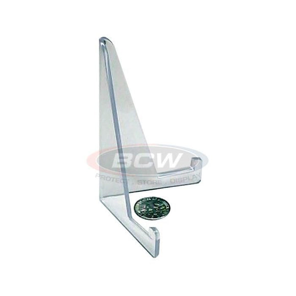 BCW Small Plastic Card Stand - Clear