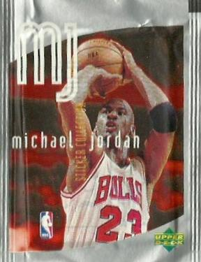 1998-99 Upper Deck Michael Jordan MJ Stickers NBA Basketball - Retail Pack