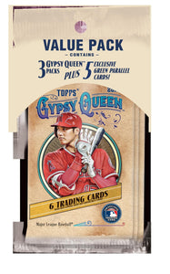2019 Topps Gypsy Queen MLB Baseball - Cello/Fat/Value Pack