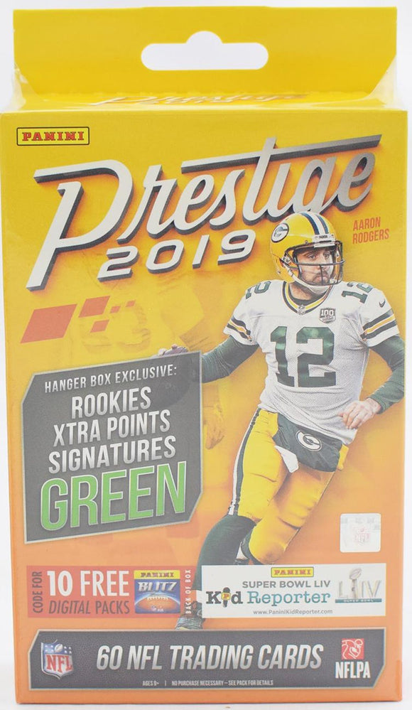 2019 Panini Prestige NFL Football - Hanger Box