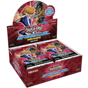 Yu-Gi-Oh! Speed Duel: Scars of Battle Booster Pack Box (24ct)