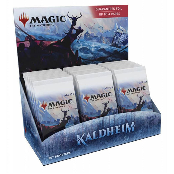 Magic: The Gathering Kaldheim Set Booster Box (30ct)