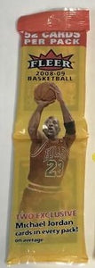 2008-09 Fleer NBA Basketball cards - Retail Rack Pack
