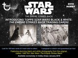 Topps Star Wars The Empire Strikes Back Black & White (2019) - Hobby Box