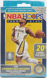 2019-20 Panini Hoops Premium Stock NBA Basketball - Hanger Box