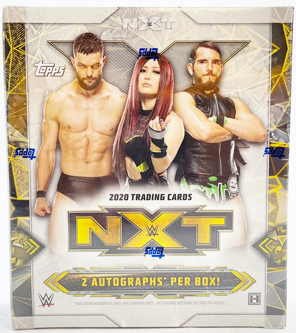 2020 Topps WWE NXT Wrestling trading cards - Hobby Box