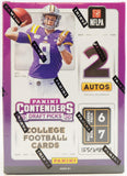 2020 Panini Contenders Draft Picks NFL Football - Blaster Box