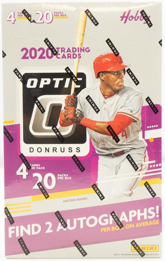 2020 Panini Donruss Optic MLB Baseball - Hobby Box