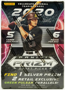 2020 Panini Prizm Draft Picks MLB Baseball cards - Blaster Box