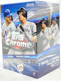 2020 Topps Chrome MLB Baseball - Blaster Box