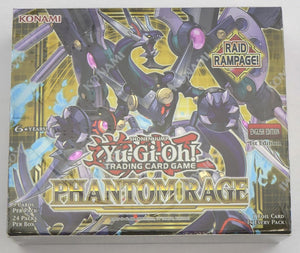 Yu-Gi-Oh! Phantom Rage Booster Pack Box (24ct)