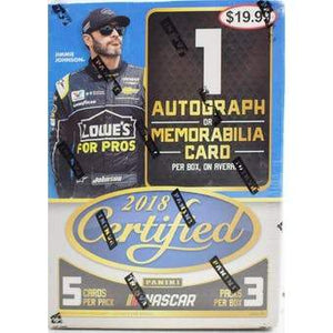 2018 Panini Certified Nascar Racing - Blaster Box