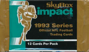 1993 Skybox Impact NFL Football - Retail Pack