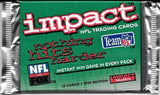 1995 Skybox Impact NFL Football - Retail Pack
