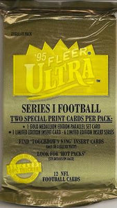 1995 Fleer Ultra Series 1 NFL Football - Retail Pack