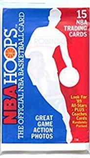 1989-90 NBA Hoops NBA Basketball - Hobby Pack