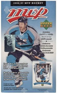 2006-07 Upper Deck MVP NHL Hockey (French Edition) - Blaster Box