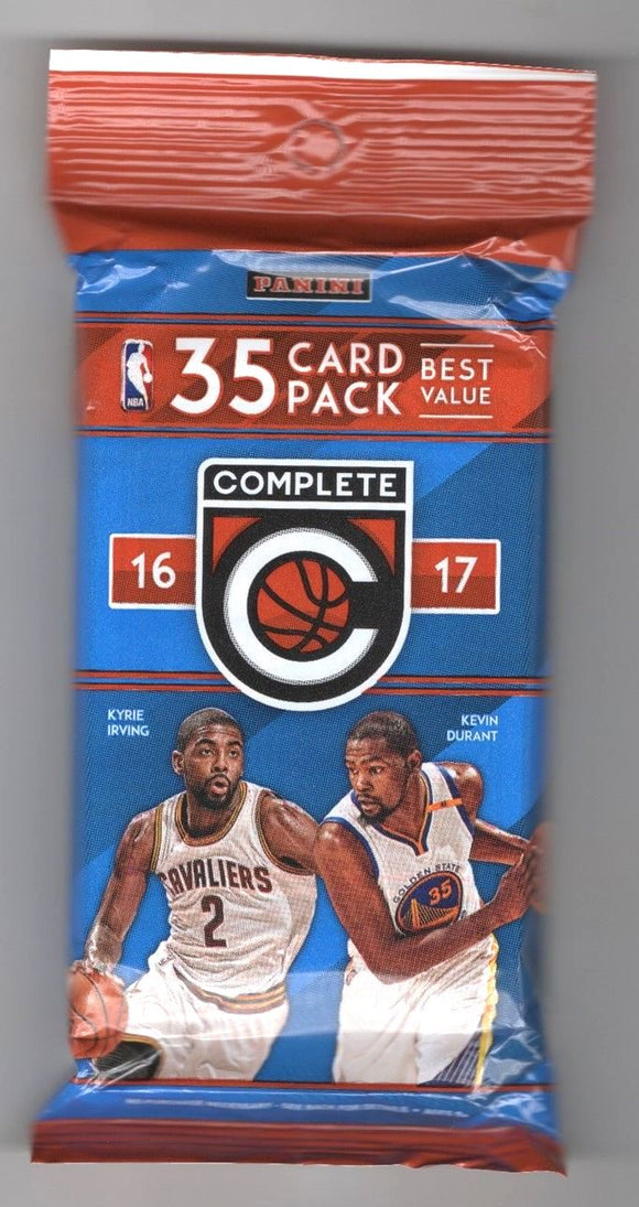 2016-17 Panini Complete NBA Basketball cards - Cello/Fat/Value Pack