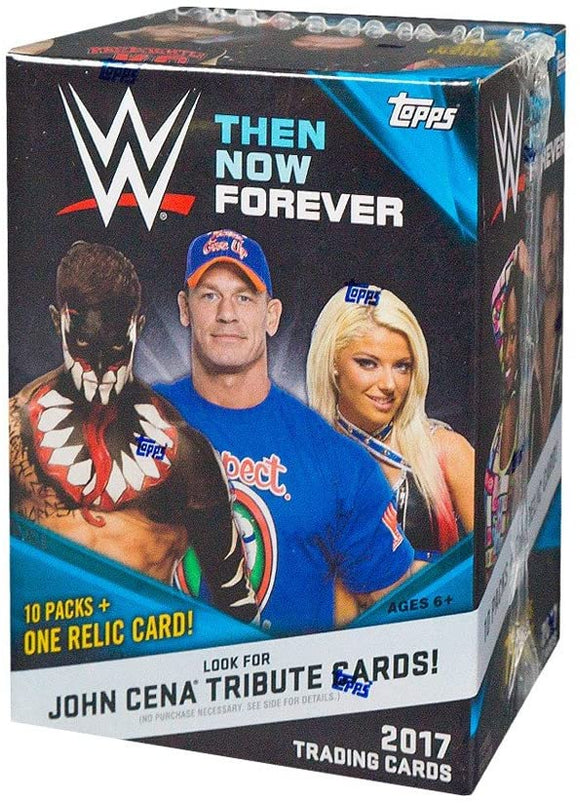 2017 Topps Then Now and Forever WWE Wrestling cards - Blaster Box