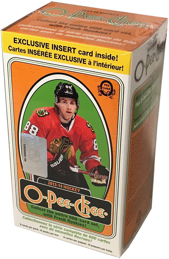 2013-14 Upper Deck O-Pee-Chee NHL Hockey cards - Blaster Box