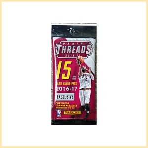 2016-17 Panini Threads NBA Basketball cards - Cello/Fat/Value Pack