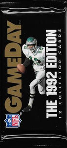 1992 GameDay NFL Football - Retail Pack