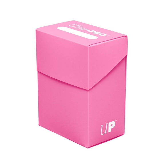 Ultra Pro Deck Box (80ct) - Bright Pink