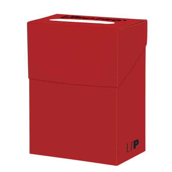 Ultra Pro Deck Box (80ct) - Red