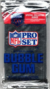 1990 NFL Pro Set Super Bowl XXV 25th Anniversary NFL Football - Retail Pack