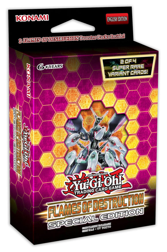 Yu-Gi-Oh! Flames of Destruction Special Edition Deck Box