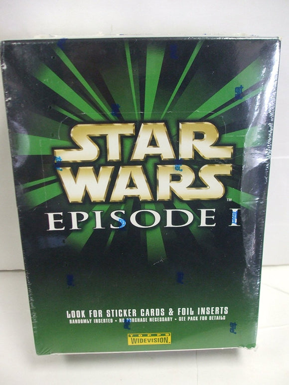 Topps Star Wars Episode 1 Widevision cards (1999) - Retail Box