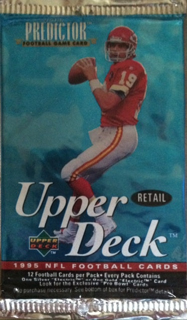 1995 Upper Deck NFL Football - Retail Pack