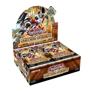 Yu-Gi-Oh! Lightning Overdrive Booster Pack Box (24ct)