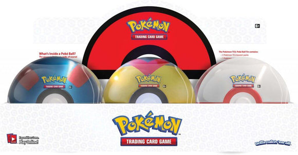 Pokemon TCG Poké Ball Tin - Series 6