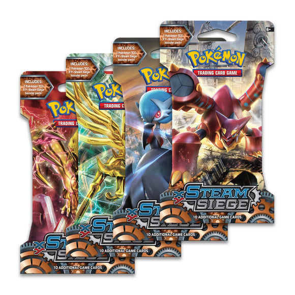 Pokemon XY Steam Siege Sleeved Booster Pack (Retail)