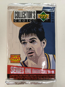 1994-95 Upper Deck Collector's Choice Series 1 NBA Basketball - Retail Pack