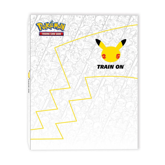 Pokemon 25th Anniversary First Partner Collector's Binder Album
