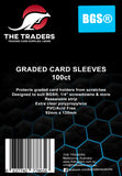 The Traders Resealable Graded Card Sleeves (100ct) - BGS