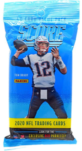 2020 Panini Score NFL Football - Cello/Fat/Value Pack