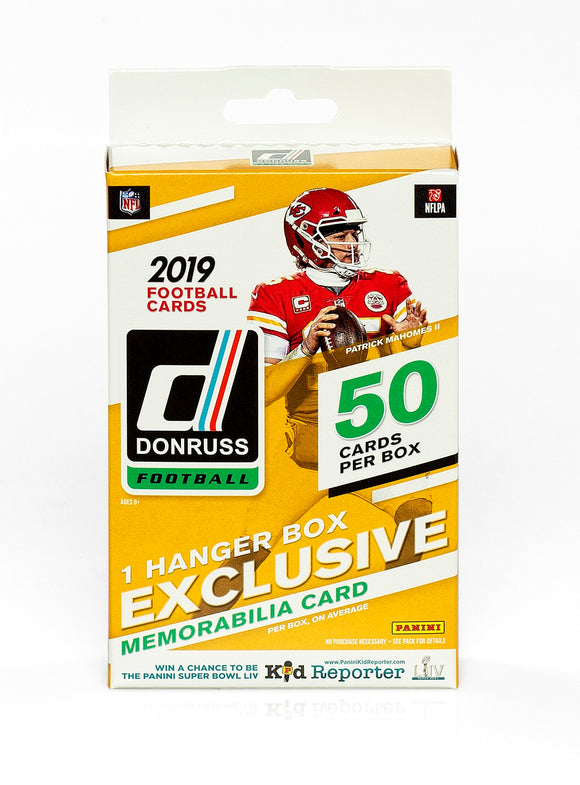 2019 Panini Donruss NFL Football - Hanger Box (Walmart Exclusive)