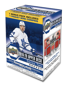 2019-20 Upper Deck Series 2 NHL Hockey - Blaster Box