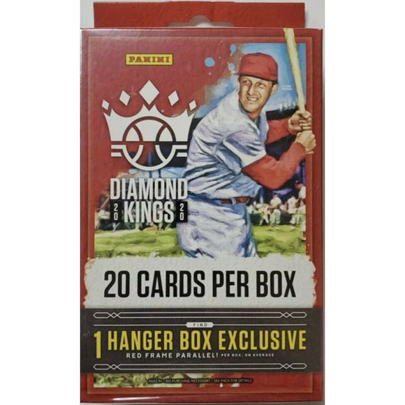 2020 Panini Diamond Kings MLB Baseball - Hanger Box